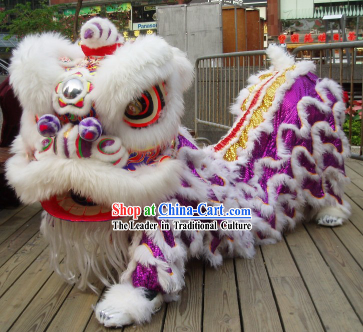 Friendly Top Competition and Parade Lion Dance Costume Complete Set