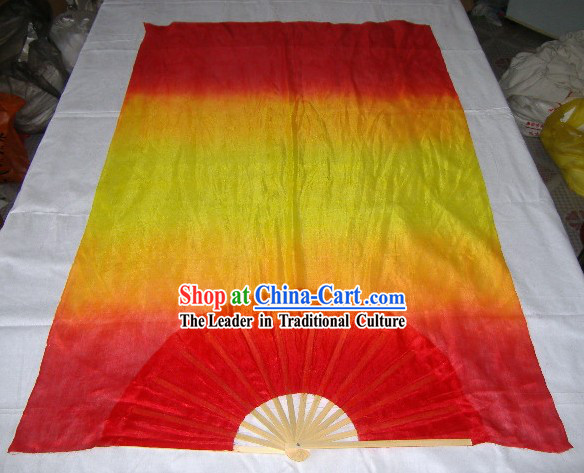 Chinese Colour Changing Silk Fan