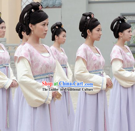 Ancient Chinese Palace Servant Girl Costumes