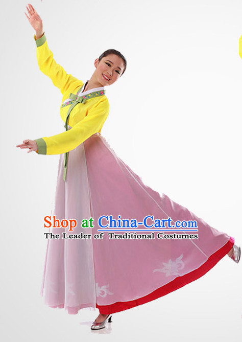 22390628a04d3 Chinese Folk Korean Fan Dancing Clothes Costume Wholesale Clothing Group Dance  Costumes Dancewear Supply for Girls