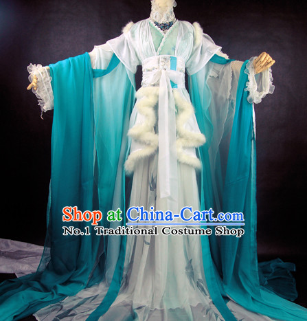 Chinese Imperial Infanta Costumes Complete Set