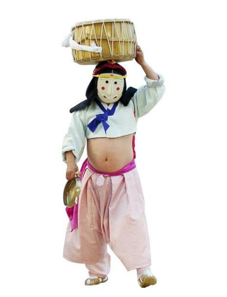 Traditional Korean Costumes Hanbok For Children