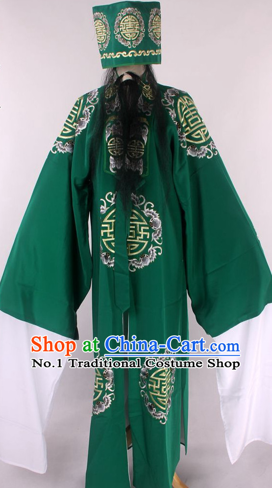 Chinese Culture Chinese Opera Costumes Chinese Cantonese Opera Beijing Opera Costumes Landowner Costumes for Men