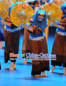 Chinese Traditional Stage Costumes Theater Costumes Professional Theater Costume for Women